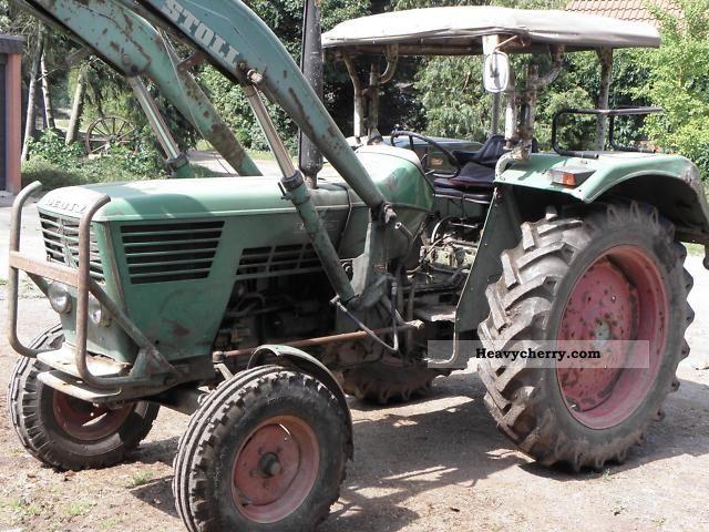 1970 Deutz-Fahr  6006 Agricultural vehicle Tractor photo