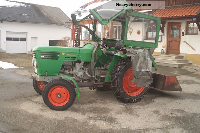 1972 Deutz-Fahr  3006 Agricultural vehicle Tractor photo