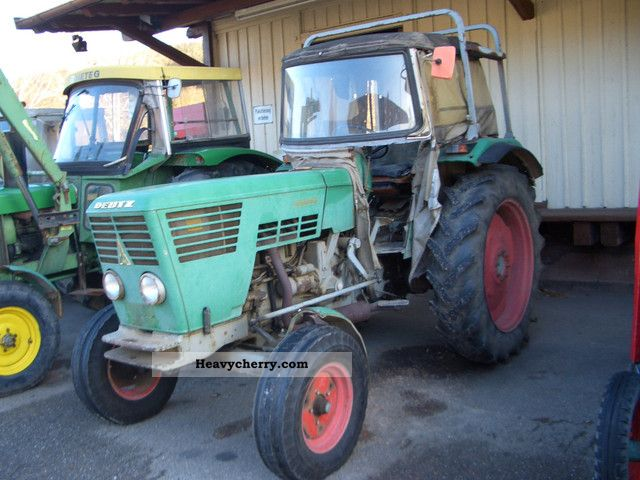 1972 Deutz-Fahr  6206 Agricultural vehicle Tractor photo
