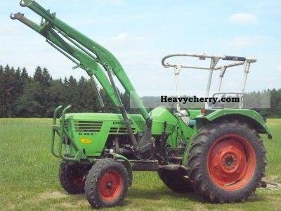 1976 Deutz-Fahr  4506 Agricultural vehicle Tractor photo