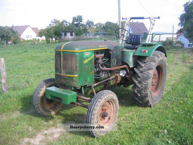 1959 Deutz-Fahr  F3L514 Agricultural vehicle Tractor photo