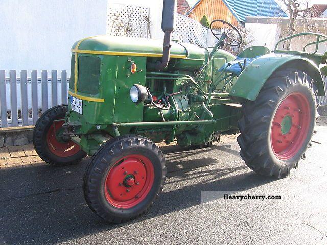1958 Deutz-Fahr  FL 514 / 4 Agricultural vehicle Tractor photo