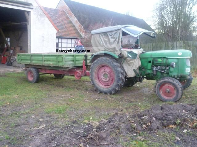 1965 Deutz-Fahr  D40.2 air-cooled Agricultural vehicle Tractor photo