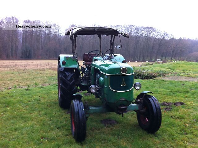 1967 Deutz-Fahr  6005 Agricultural vehicle Tractor photo