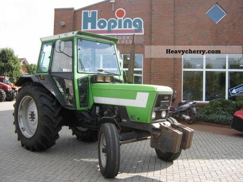 1981 Deutz-Fahr  D 7207 C Agricultural vehicle Tractor photo