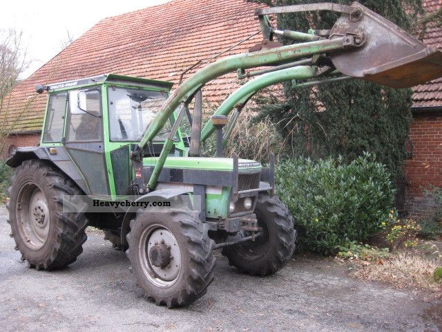 2011 Deutz-Fahr  7807 CA Agricultural vehicle Tractor photo