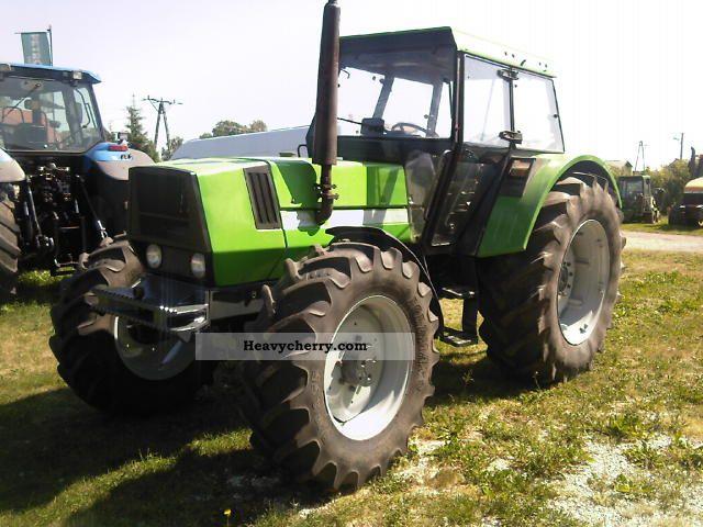 1987 Deutz-Fahr  6:30 Agricultural vehicle Tractor photo