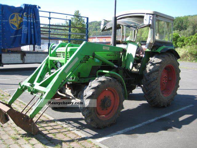 1974 Deutz-Fahr  7206 wheel-drive ... Tüv 2013 Agricultural vehicle Tractor photo