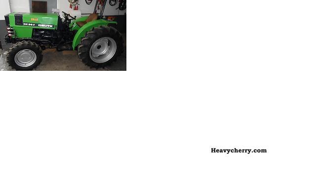 1981 Deutz-Fahr  DX 36 VA Agricultural vehicle Tractor photo