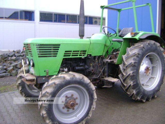 1975 Deutz-Fahr  6806 Agricultural vehicle Tractor photo