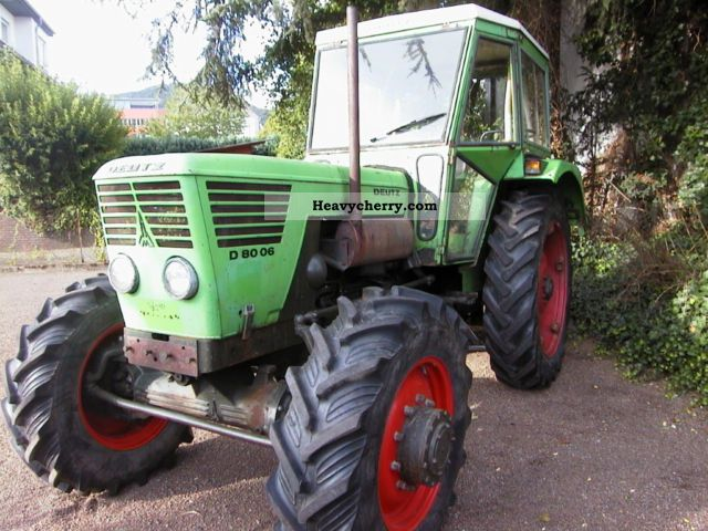 1975 Deutz-Fahr  8006 A Agricultural vehicle Tractor photo