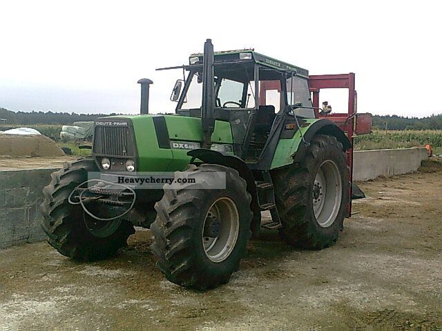 1990 Deutz-Fahr  6:50 Agricultural vehicle Tractor photo
