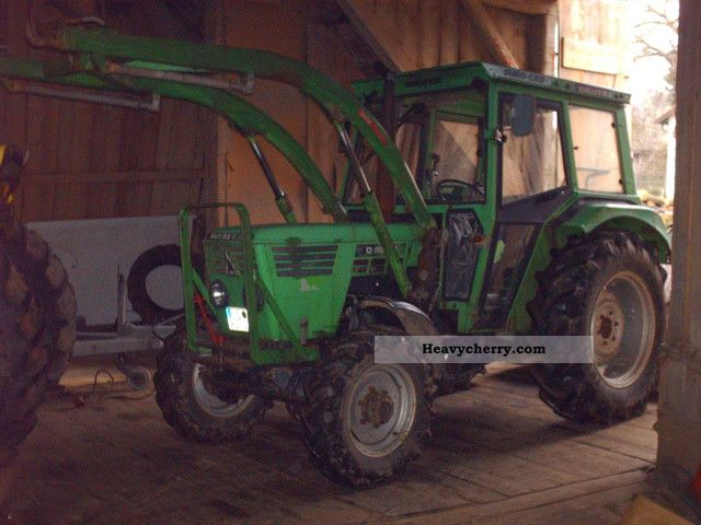 1979 Deutz-Fahr  5206 S wheel Agricultural vehicle Tractor photo