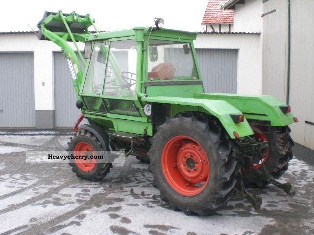 Deutz-Fahr Intrac 2003 1976 Agricultural Tractor Photo and Specs