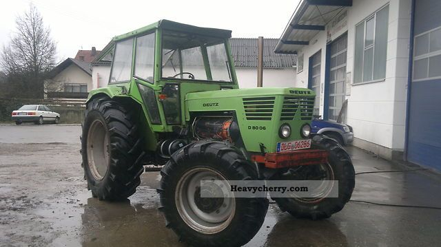 1975 Deutz-Fahr  8006 10006 Air Agricultural vehicle Tractor photo