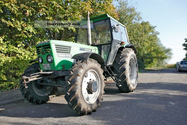 2011 Deutz-Fahr  7206 ALLRAD Agricultural vehicle Harrowing equipment photo