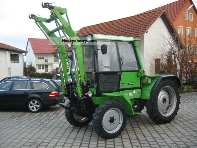 1983 Deutz-Fahr  Intrac2004 Loader Front PTO + hydraulic Agricultural vehicle Tractor photo