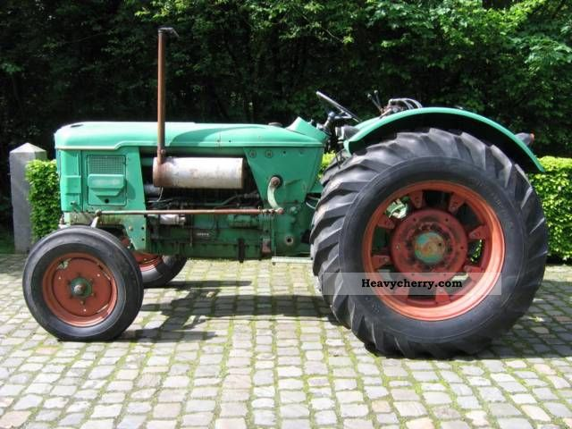 1965 Deutz-Fahr  8005 Agricultural vehicle Tractor photo
