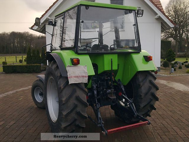 Deutz Fahr Dx 3 10 Vc 1992 Agricultural Tractor Photo And