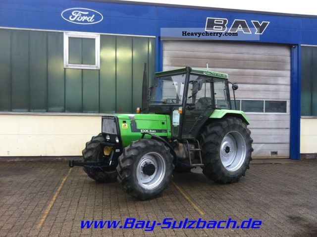 1992 Deutz-Fahr  3.60 Star DX-wheel-Kab 40 km / h FH / FC Agricultural vehicle Tractor photo