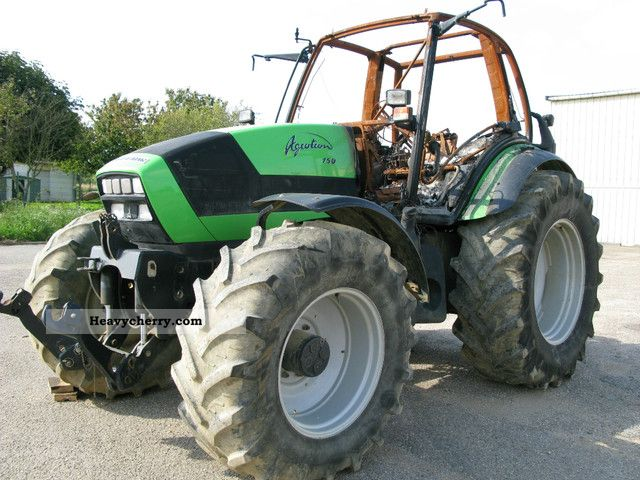 2011 Deutz-Fahr  AGROTRON 150 Agricultural vehicle Tractor photo
