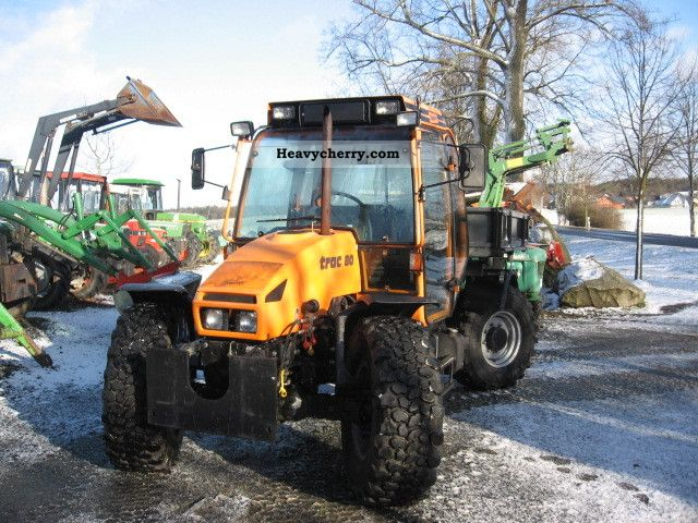 2003 Deutz-Fahr  Systra 80 Agricultural vehicle Tractor photo