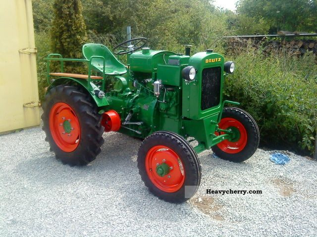 1949 Deutz-Fahr  11 He restored Deutz water-cooled - also f Agricultural vehicle Tractor photo