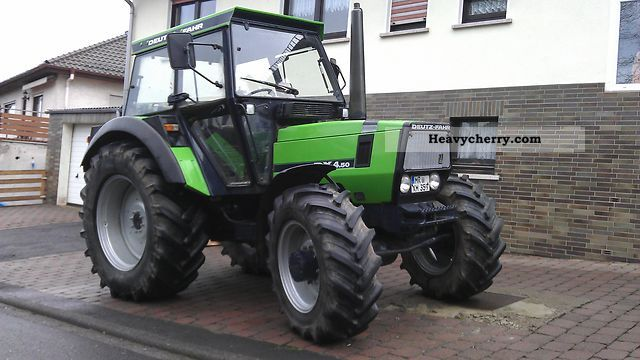 Deutz Fahr Dx 4 50 A 1987 Agricultural Tractor Photo And Specs