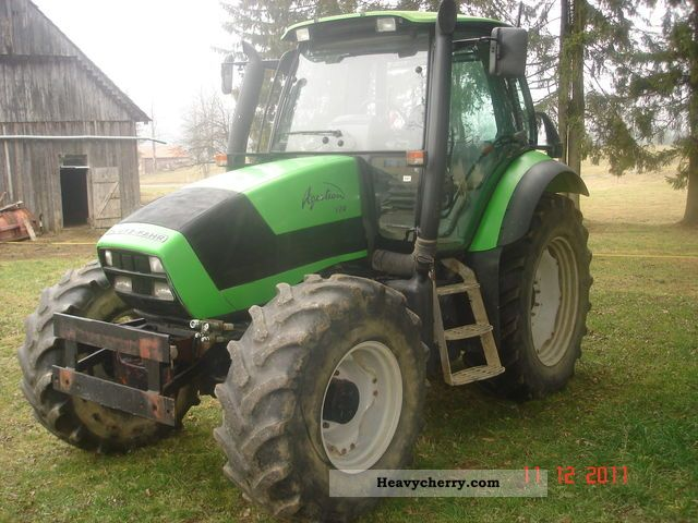 2005 Deutz-Fahr  AGROTRON 120 Agricultural vehicle Tractor photo