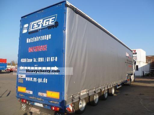 2010 Dinkel  4-axis Mega-Semitrailer Semi-trailer Low loader photo