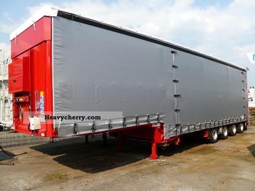 2011 Dinkel  4-axis-jumbo Semi-trailer Low loader photo