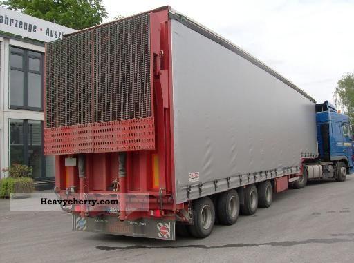 2010 Dinkel  4-axle semi-trailer - MEGA Semi-trailer Low loader photo