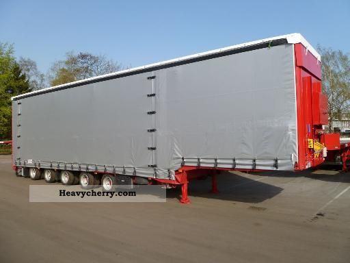 2010 Dinkel  5-axis-jumbo Semi-trailer Low loader photo