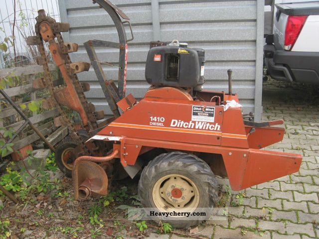 1983 Ditch Witch  1410 WE diesel Grabenfrässe Construction machine Other construction vehicles photo