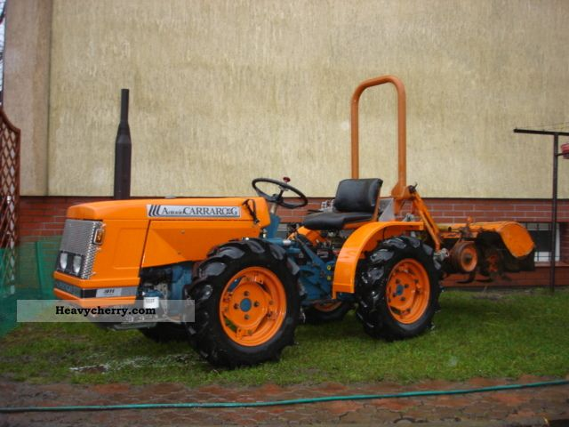 1985 Carraro  ANTONIO CARRARO supertigre 4000 Agricultural vehicle Tractor photo