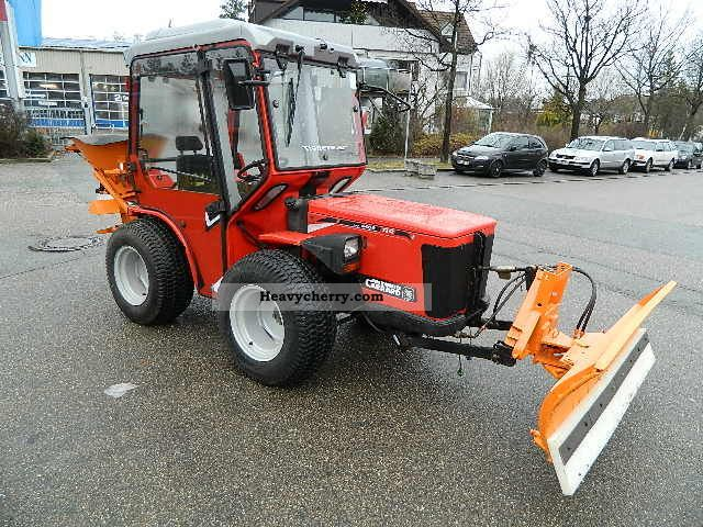 2001 Carraro  TTR 4400 HST Tigretrac winter 4x4 Agricultural vehicle Tractor photo