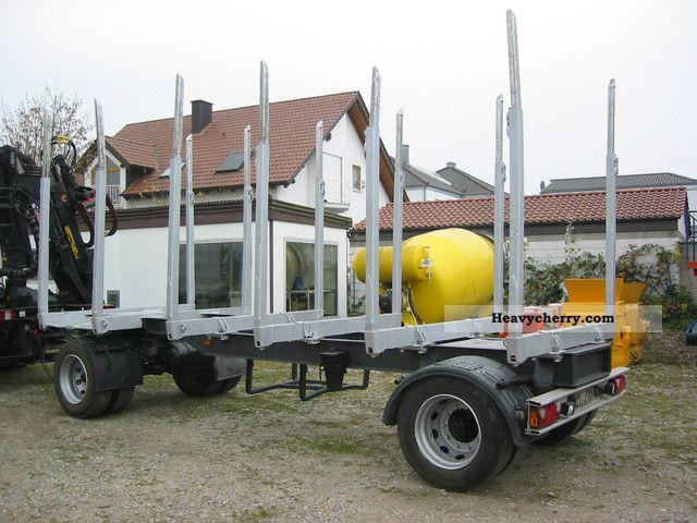 2003 Doll  Trailer, timber transport, Huttner, N6SZ-20 Trailer Timber carrier photo