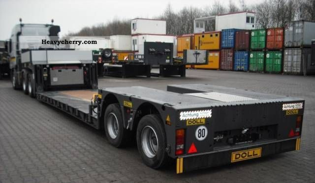 2011 Doll  \ Semi-trailer Low loader photo