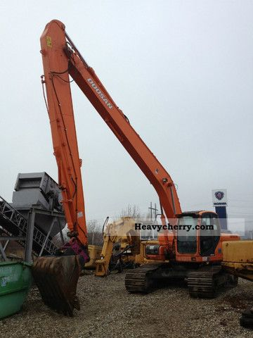 2008 Doosan  225 LC Long Front 18.5 Construction machine Caterpillar digger photo