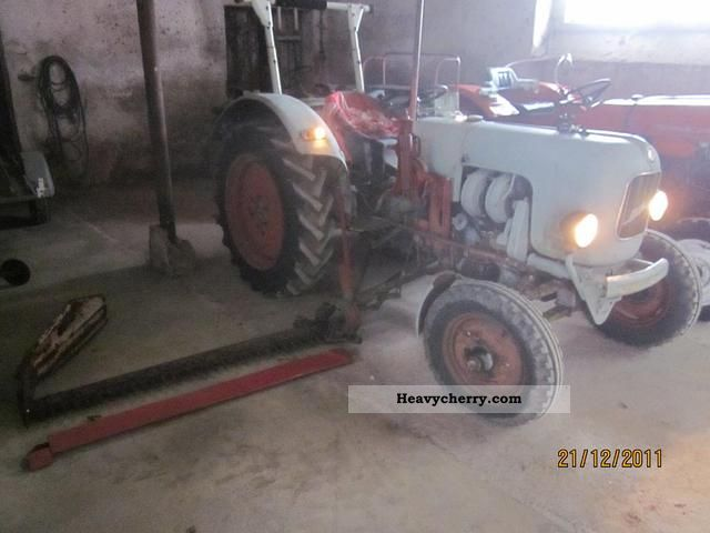 1959 Eicher  EM 200 B Agricultural vehicle Tractor photo