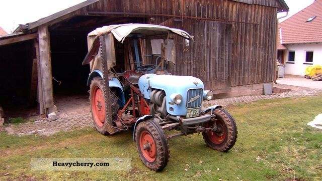 1965 Eicher  Tiger EM 200 Agricultural vehicle Tractor photo