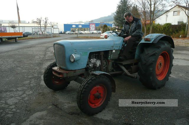 1973 Eicher  3251 S Agricultural vehicle Tractor photo
