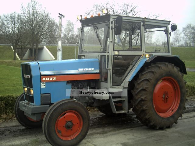 1980 Eicher  4072 Agricultural vehicle Tractor photo