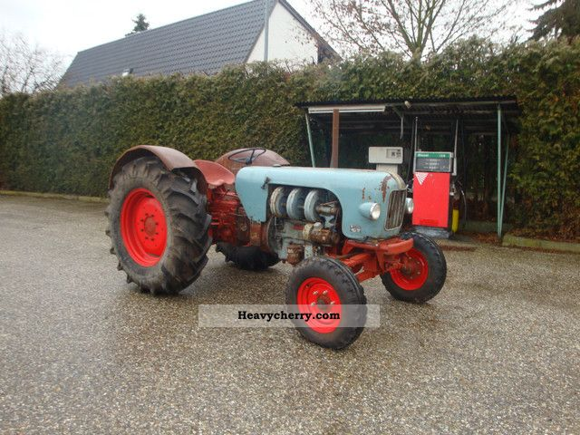 1962 Eicher  Mammoth ED 500 S Agricultural vehicle Tractor photo