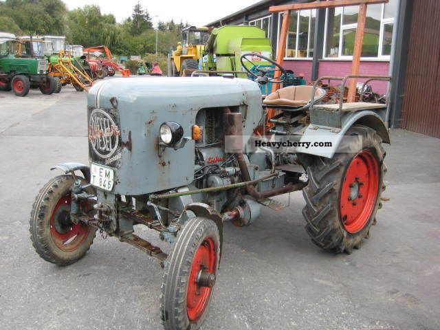 1959 Eicher  ED 13 / I Agricultural vehicle Tractor photo