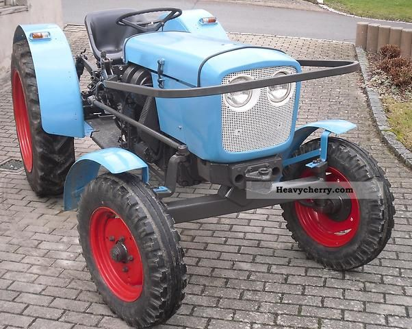 1981 Eicher  3055 Agricultural vehicle Tractor photo