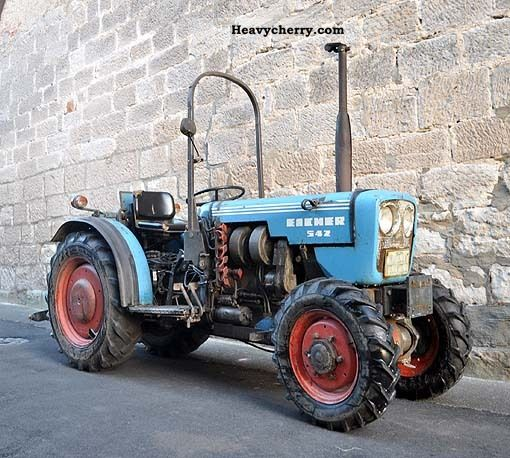 1985 Eicher  542 Agricultural vehicle Tractor photo
