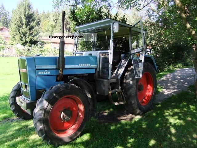 1980 Eicher  3105/3022AS Agricultural vehicle Tractor photo