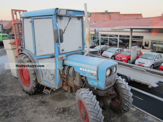 1982 Eicher  3726SA Agricultural vehicle Tractor photo