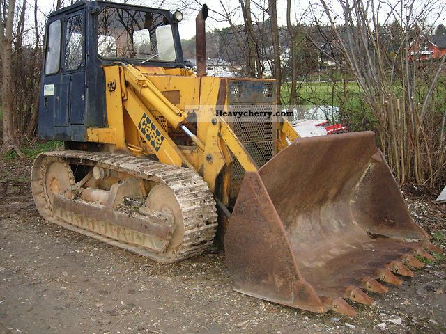 1984 Case  1450 Construction machine Dozer photo